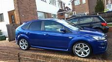 ford focus mk2 facelift blue ford focus st mk2 facelift fordfocusstclub ford