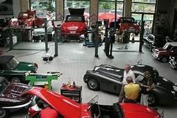 Classic Car Workshop In Germany  Motorcycle And