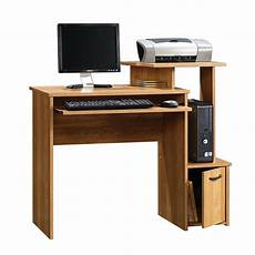 home office furniture computer desk sauder beginnings oak finish computer desk home