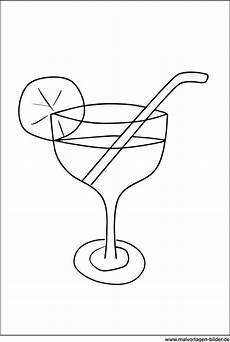 cocktail ausmalbild zum ausdrucken