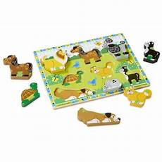Puzzle Chungky Pet 8 pc doug pets chunky puzzle from who what why
