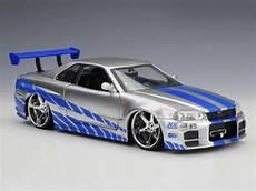 Fast Furious Nissan Skyline Gt R34 Car Inspiring Wave