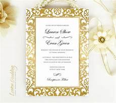 Photo Frame Wedding Invitations