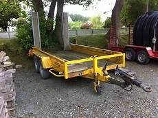 Remorque Mini Pelle Occasion Traktorpool Schlepper