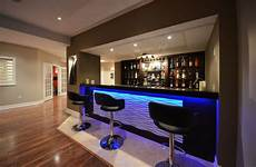 Modern Home Bar Decor Ideas by Convert Your Contemporary Basement Into Livable Space