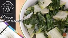 cucinare bietola cucina al microonde bieta in 8 minuti ideale come