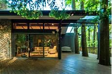 frank lloyd wright inspired house modern patio cincinnati by codis inc