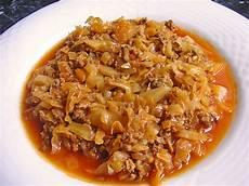 kohl mit hack kohl geschmort mit hackfleisch jamaica chefkoch de