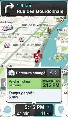 Waze Application Gps Et Avertisseur De Radars Gratuit