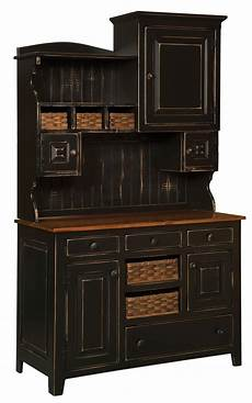 Amish Kitchen Furniture Amish Country Kitchen Hutch Farm House Pantry Surrey