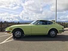 Cars  1972 Datsun Z Series 240z Lime Green