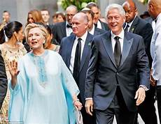 and bill clinton wedding clintons attend hedge fund billionaires s wedding