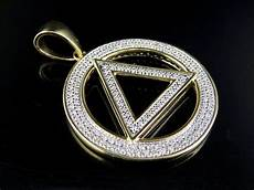 eminem illuminati necklace s 10k yellow gold real illuminati eminem