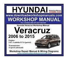 2010 hyundai veracruz repair service shop manual download manuals hyundai workshop manuals