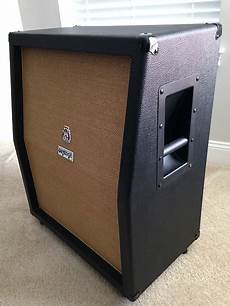 2x12 guitar empty 2x12 vert guitar speaker cabinet wheat grill mesa reverb