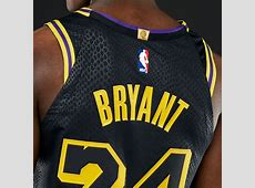 kobe bryant black jersey authentic