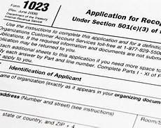 report asks for 501 c 3 application improvements