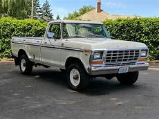 bangshift com they don t come cleaner this 1979 ford f 250 is a truck fan s dream rig