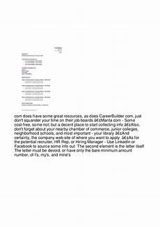 cover letter and referral