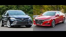 honda accord 2018 vs toyota camry 2018 2018 honda accord vs 2018 toyota camry the family sedan