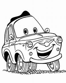 Cars Malvorlagen Zum Ausmalen Cars 1 Ausmalbilder Kostenlos