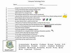 computer technology lessons with five worksheets for grade 4 tpt