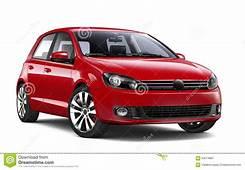 Red Hatchback Car Stock Illustration  Image 63574887