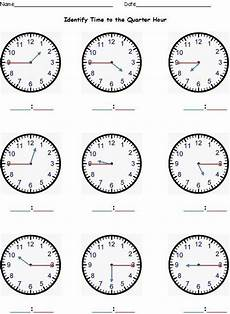 what s the time printable worksheets 3783 telling time to the nearest hour half hour quarter hour five minutes student learning and