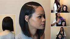 side part quick weave bob pronto youtube