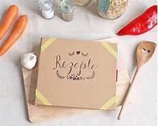 diy kochbuch mit tafelfolie kochbuch selbst gestalten