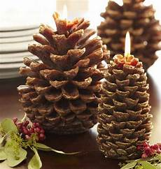 Home Decor Ideaswith Pine Cones by 10 Ideas Of Pine Cones And Candles Arrangements Shelterness
