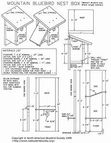 western bluebird house plans mountain western bluebird nesting box bird nesting box