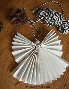 basteln diy papierengel engel aus papier falten