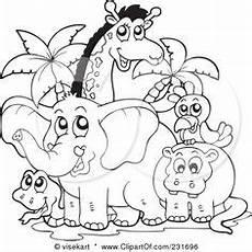 Kostenlose Malvorlagen Tiere Leveln Ausmalbilder Dschungeltiere 02 L 246 Wen Malvorlagen Comic