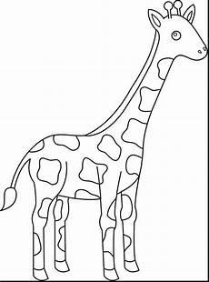 Malvorlagen Giraffe Pdf Malvorlagen Giraffe Malen Kinder