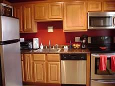 Oak Kitchen Cabinets Paint Ideas by Kitchen Wall Color Ideas With Oak Cabinets Design Idea