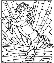 mosaik farbtonseiten tieren f 228 rbendes haus