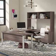 online home office furniture wrought studio pham 4 piece u shape desk office suite