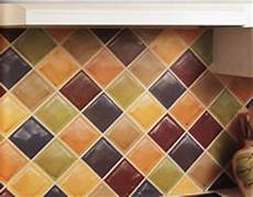 faux glass tile backsplash how to paint a faux tile backsplash matt and shari