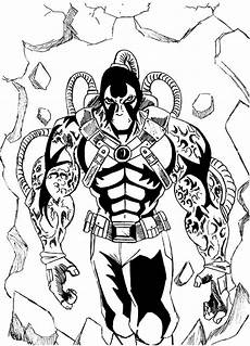 Bane Batman Coloring Pages Bane Batman Walking Through The Wall Coloring Pages Best