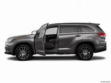 2019 toyota highlander specs capacities and dimensions
