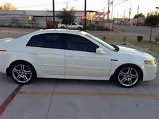 purchase used 2005 acura tl fully loaded sedan 4 door 3 2l white low reserve in houston texas