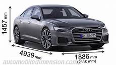 audi a6 dimensions audi a6 2018 dimensions boot space and interior