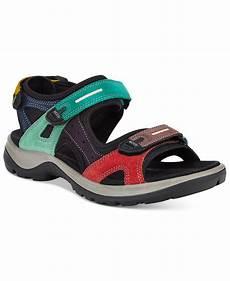 lyst ecco s anniversary yucatan sandals in black