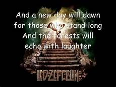 led zeppelin stairway to heaven testo led zeppelin stairway to heaven