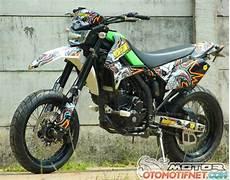 Modifikasi Motor D Tracker by Foto Modifikasi Kawasaki D Tracker 250 Keren Terbaru