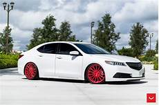 acura tlx on vossen vfs 2
