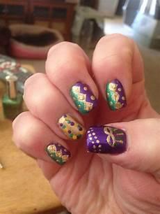 mardi gras nail art mardi gras nails nail art nails