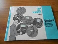 free service manuals online 1984 ford ltd crown victoria transmission control 1984 ford ltd marquis electrical vacuum troubleshooting wiring manual ebay