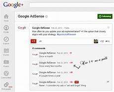 how to create a poll on google plus
